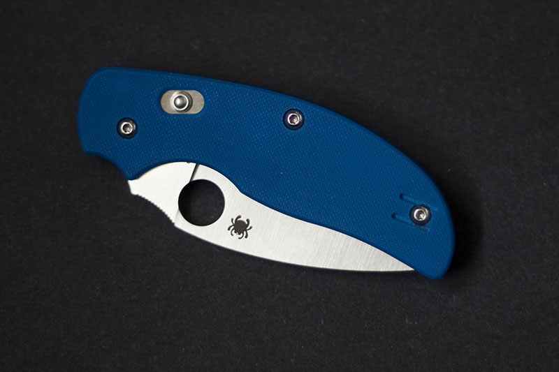 Spyderco Sage 3 Blue G-10 Plain Edge Knife Review