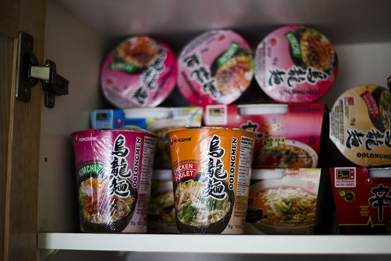 stockpiling food affordably