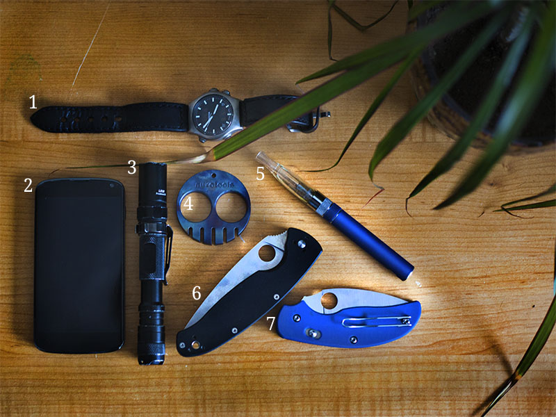 everyday carry pocket dump