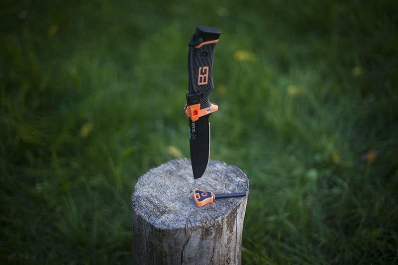 gerber bear grylls survival kit gear knife
