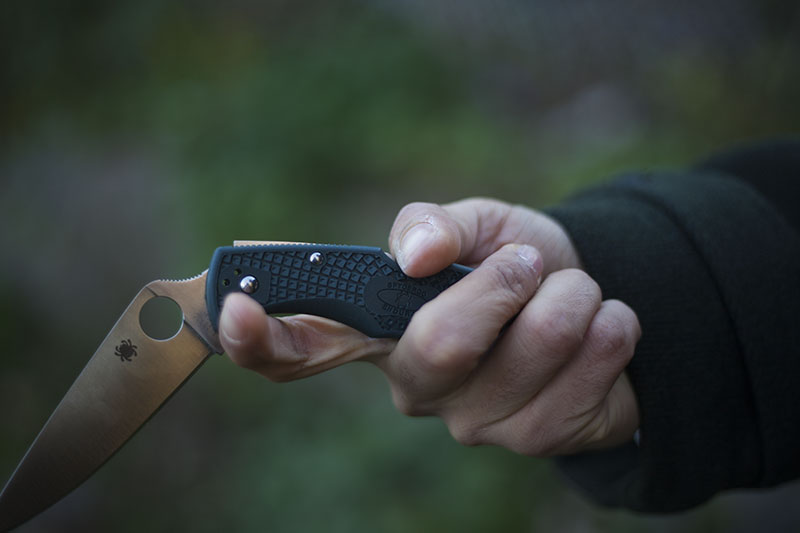 endura 1 2 3 4 spyderco knife