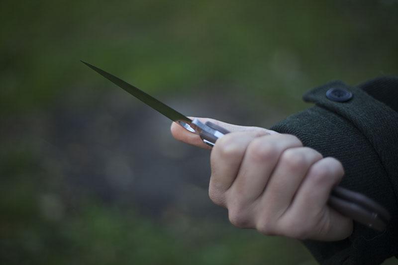 edc g10 knife spyderco military 1