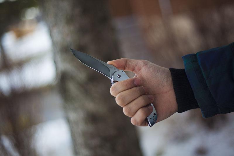 knife review flipper guard kershaw volt
