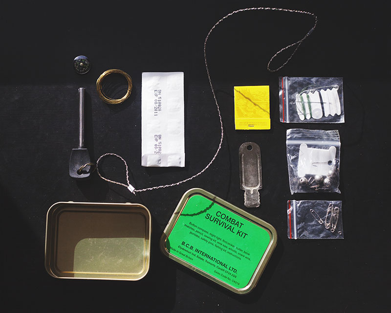 make your own survival kit instead