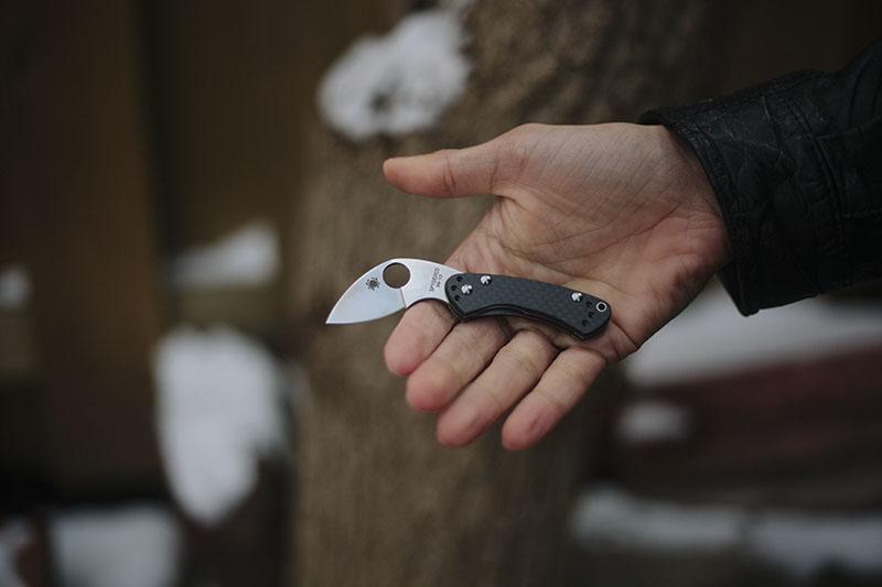 spyderco balance tiny edc knife review