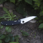 Spyderco Resilience Black G-10 Folding Knife Review