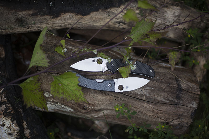 "Knife Drop: ""Zen Spydercos"" Yin and Yang"
