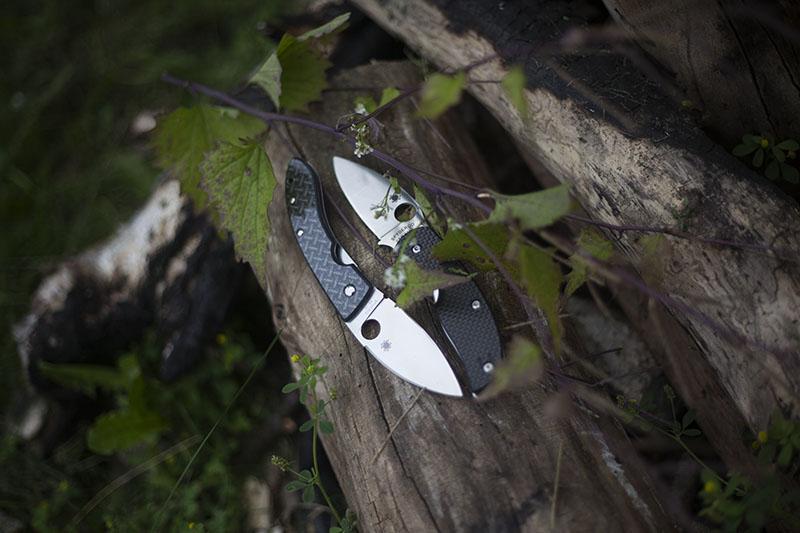 knife drop spydercos zen yin and yang