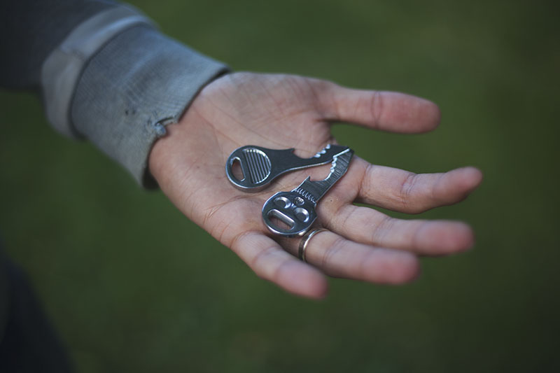 edc mini multi-tool quickey skullkey review
