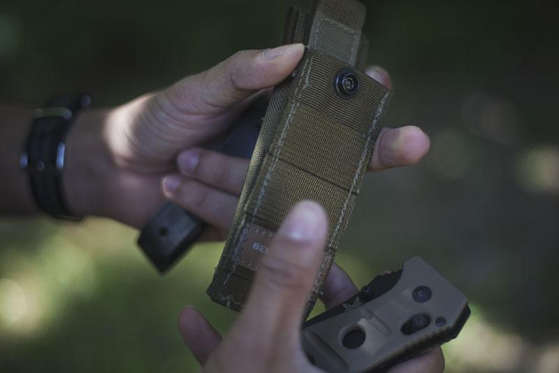 benchmade adamas sheath tactical survival folding knife review