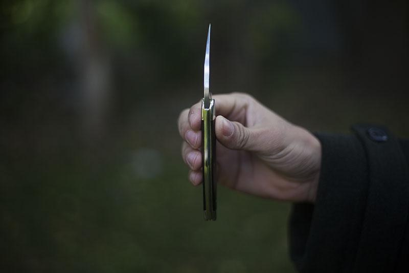 case seahorse whittler black g10 slip joint knife review