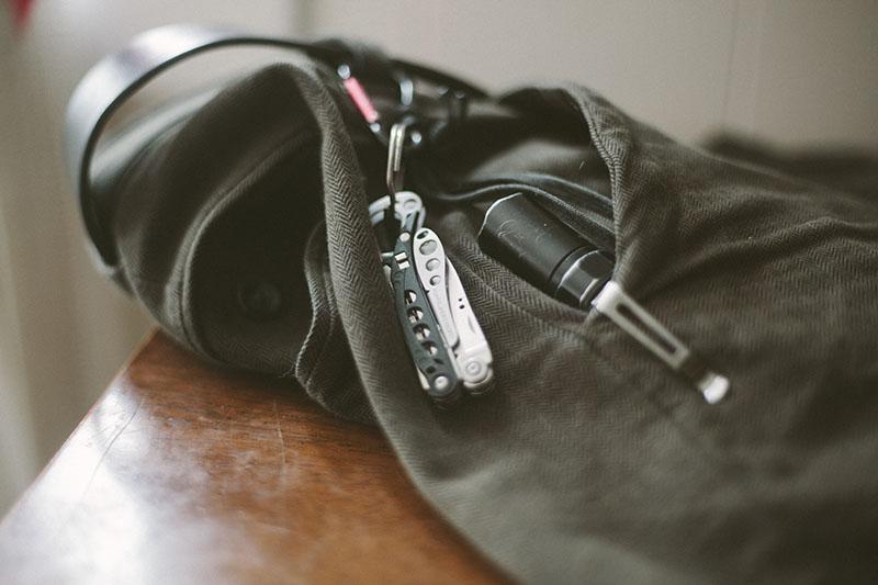 everyday carry keychain tool items edc