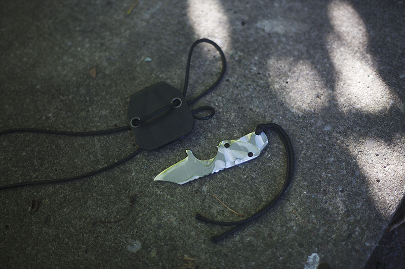 Boker Plus CLB Microcom Fixed Blade Neck Knife Review