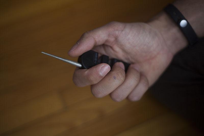 survival blog knife sharpener review smiths pocket pal 1 pp1