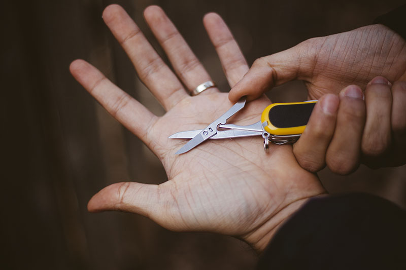 everyday carry victorinox evogrip s18 multi-tool swiss army knife review