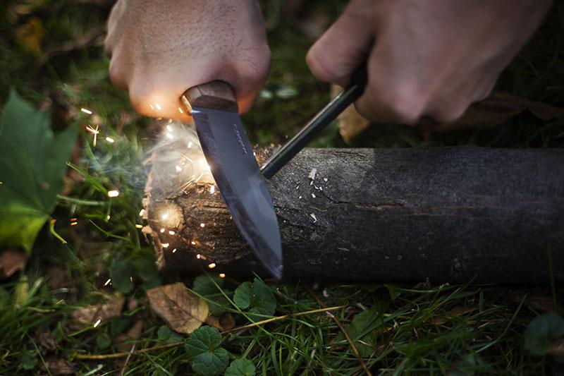 bushcraft survival knife fixed blade condor bushlore review