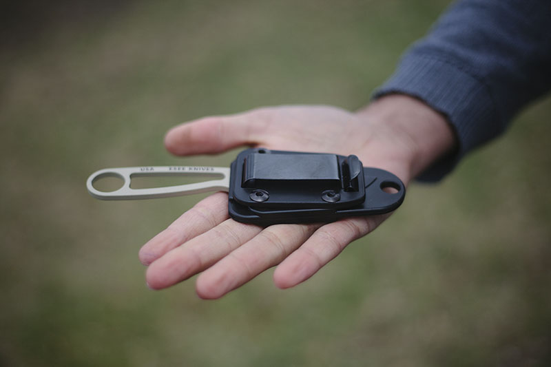 survivalist blog esee izula review small outdoor neck knife