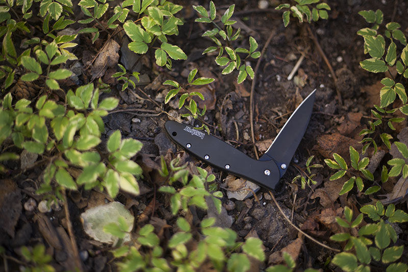 ken onion folding flipper kershaw leek review survival blog