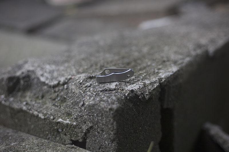 folding slip joint edc keychain knife spyderco bug review mtjsblog