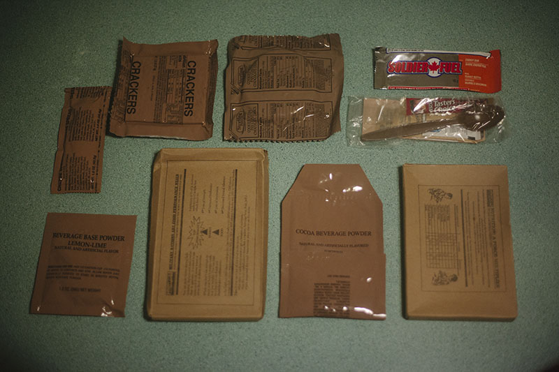 taste test mre meal ready to eat survival blog prepper food review