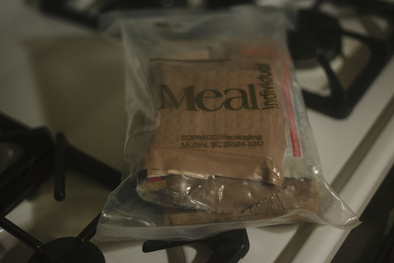 taste test mre meal ready to eat review survival blog prepper food