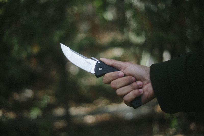 survivalist blog cold steel review talwar edc pocket knife