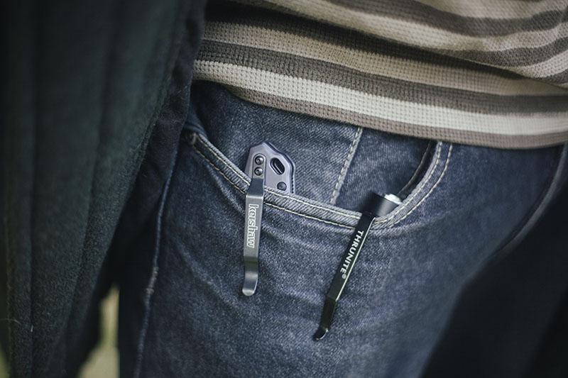 prepper blog edc gear kershaw link review folding flipper pocket knife