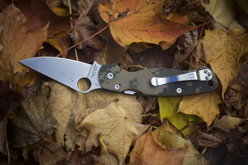 best spyderco knife for edc everyday carry paramilitary2