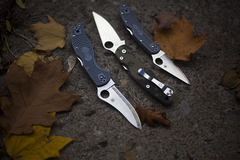 best spyderco knives to edc everyday carry knife list