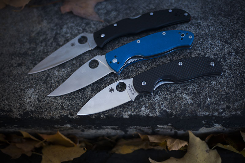 best value spyderco knives everyday carry list edc gear