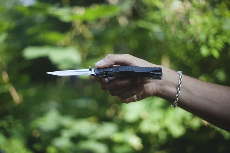 folding pocket knife review sog vulcan tanto edge arc lock folder