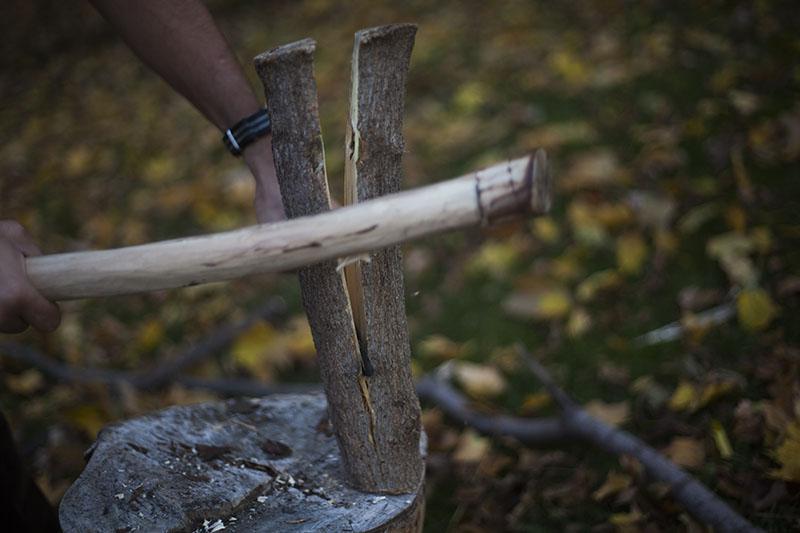 hollow handle wilderness survival outdoor knife cold steel bushman