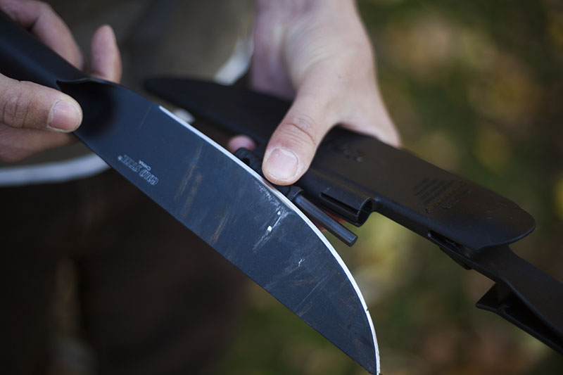 outdoor gear cold steel review bushman knife