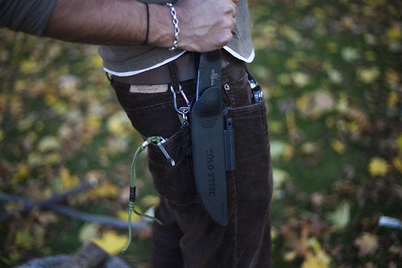 outdoor gear prepper knife cold steel bushman review