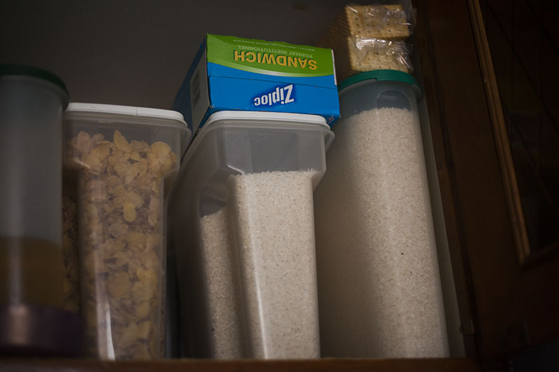 survival prepper food stockpile first in first out rotation survivalist foods