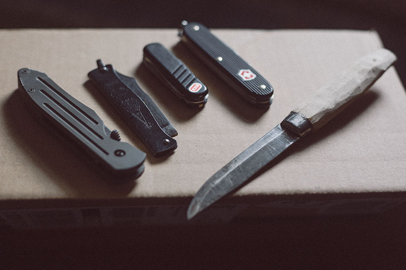 everyday carry knife collection restarting uk
