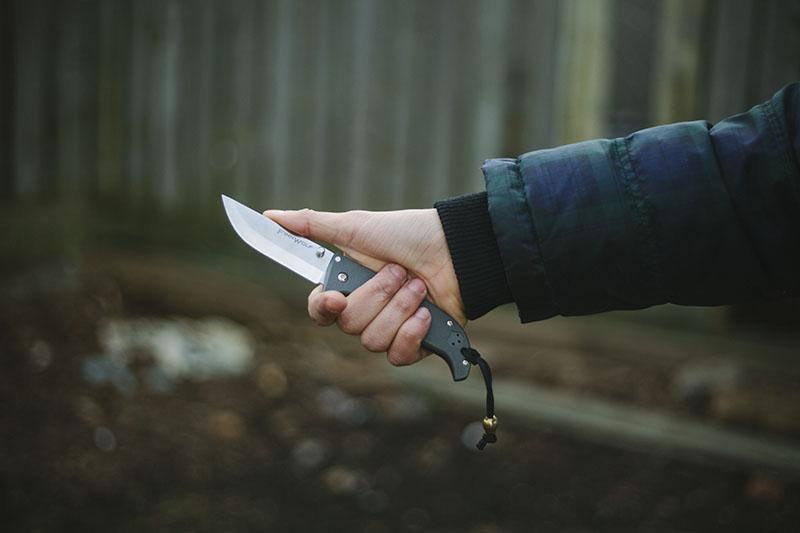 outdoor edc knife folding pocket survival knife finn wolf
