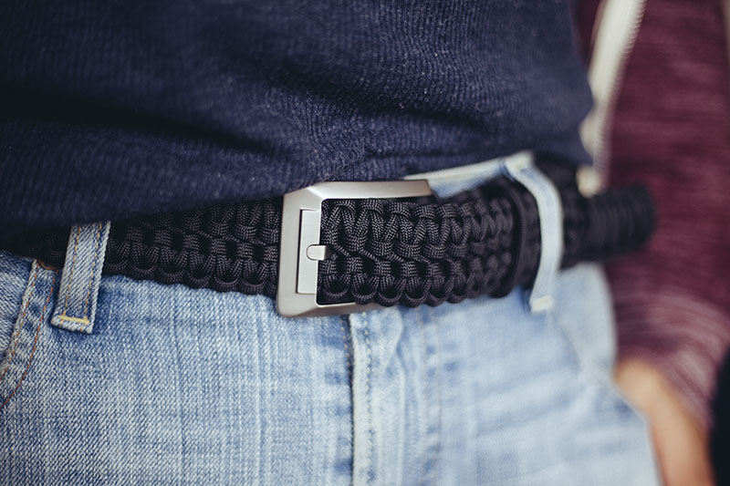 rattlerstrap titan series 550 paracord survival edc belt