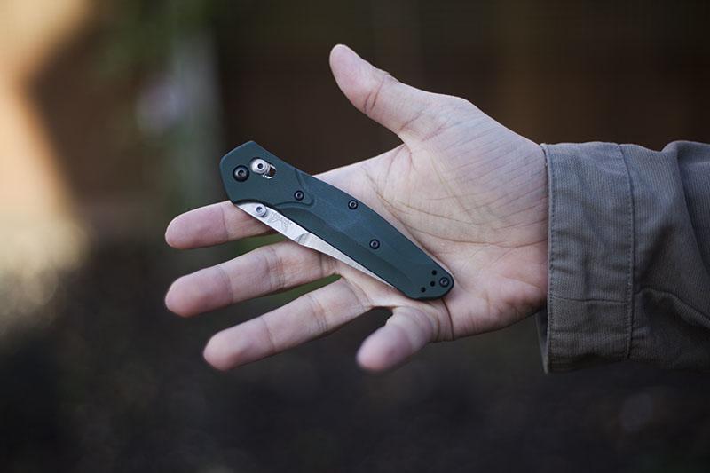 lightweight pocket knife edc review benchmade osborne 940